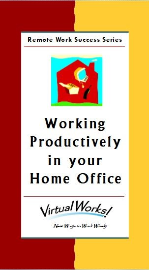 Working Productively in your Home Office